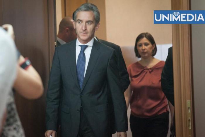 Iurie Leancă pleacă la Bruxelles, unde va avea o agendă încărcată