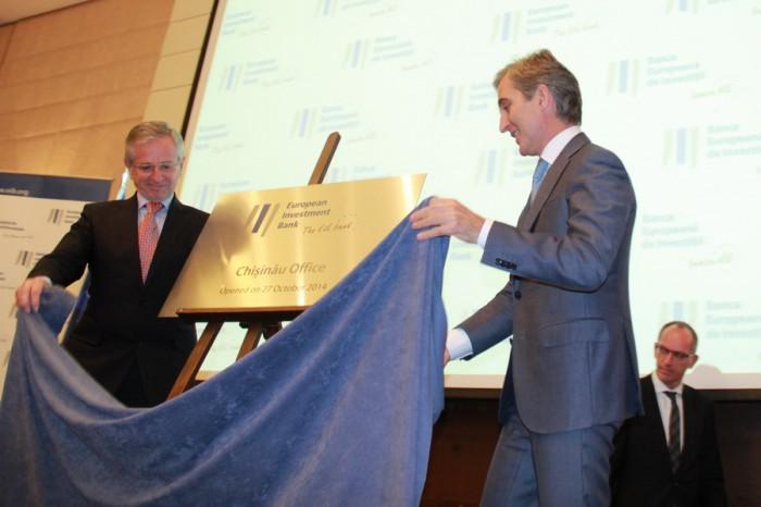 La Chişinău a fost deschis biroul Băncii Europene de Investiţii