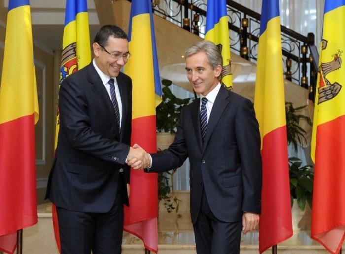Leancă și Ponta vor marca eliminarea vizelor pentru moldoveni