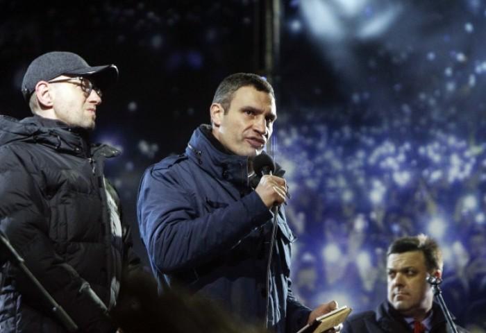 Liderii opoziției ucrainene renunță la negocierile cu Guvernul