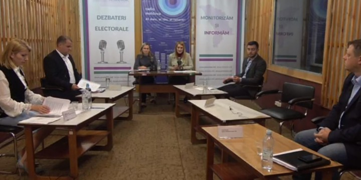 (video) Dezbateri electorale Bălți. Unionistul de la PUN către reprezentatul lui Usatîi: Vreți să treceți democrația într-un totalitarism