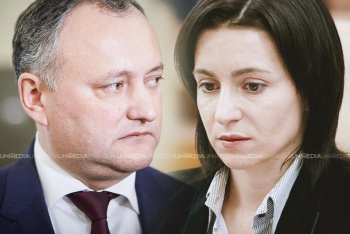 (video) O nouă dezbatere electorală între candidații Igor Dodon și Maia Sandu
