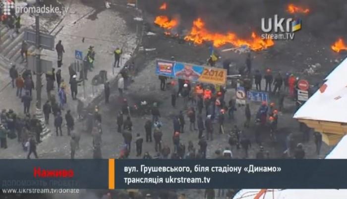 LIVE: Urmăriți imagini în direct. Numărul morților în urma protestelor din Kiev a crescut