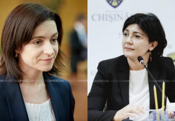 (update) Maia Sandu o acuză pe Silvia Radu că ar fi colectat semnături în numele său. Reacția primarului interimar