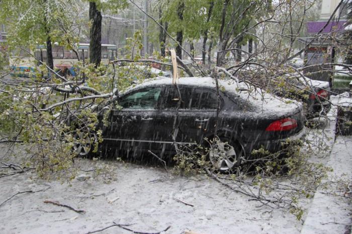 Ninsoarea și lapovița impun autoritățile să ia măsuri de urgență