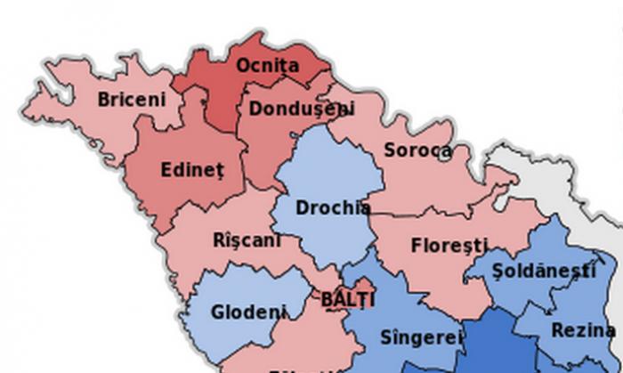 Raioanele de nord ale țării, cele mai active. Cum au votat cetățenii din aceste regiuni la alegerile anterioare