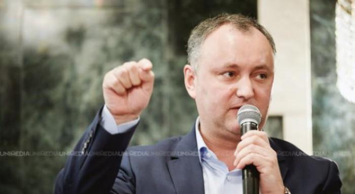 Reacția lui Dodon la declarațiile lui Voronin: După ce voi deveni președinte voi rămâne în opoziție