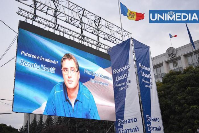 Renato Usatîi, deja cu gândul la alegerile locale