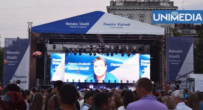 Renato Usatîi: Campania electorală pentru mine s-a încheiat!
