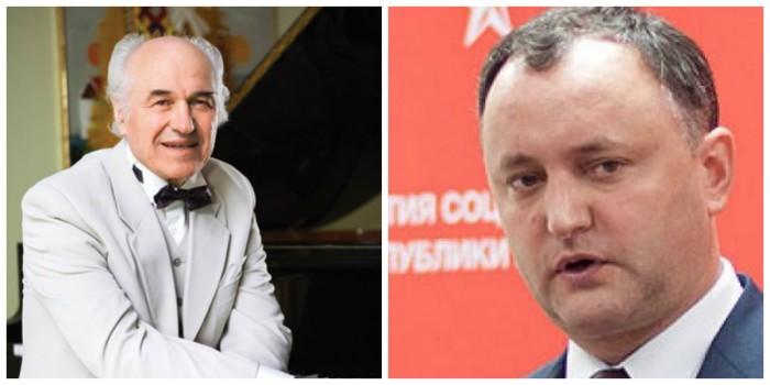 """Replica lui Dodon:  Nu comentez bâlbele şi mesajul senil al actualului """"român\"""