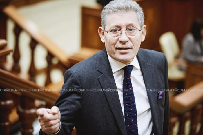 Stop cadru. Ghimpu: Nu m-am gândit că Putin o să mă copieze. Trebuia să-i dea lui Dodon harta României Mari