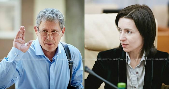 (stop cadru) Mihai Ghimpu spune că Maia Sandu este susţinută de serviciile secrete ruseşti