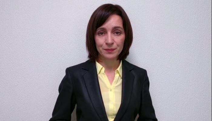 (video) Îndemnul Maiei Sandu: Eu voi face ordine începând de sus, iar împreună vom face ordine în toată țara!