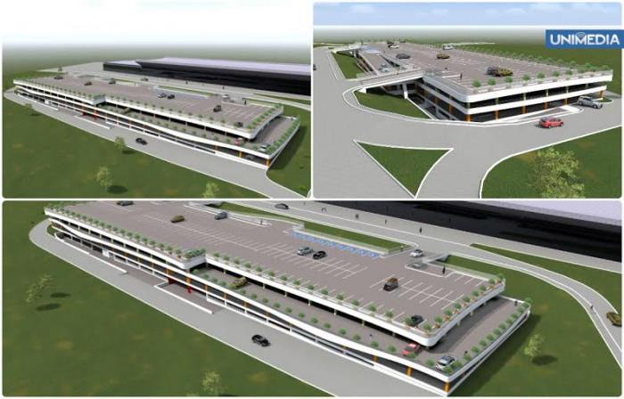 (video) A început construcția! Cum va arăta parcarea multietajată a Aeroportului Chișinău