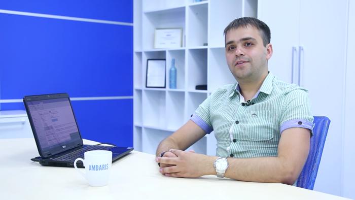 """(video) Aleg Cariera IT. Iurie Carcea, Senior Software Developer: """"Succesul întregului proiect depinde de toată echipa"""""""
