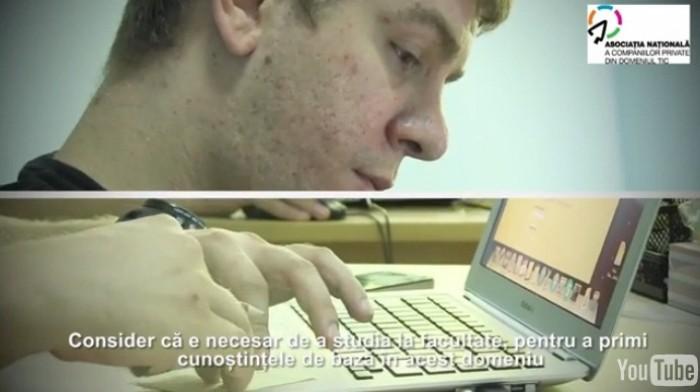 (video) Aleg cariera IT. Tânărul din culisele desenelor animate produse în Moldova