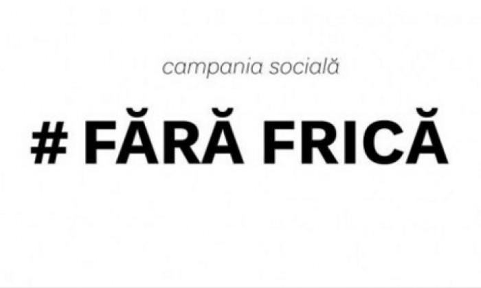 """(video) Campania socială """"Fără Frică"""""""