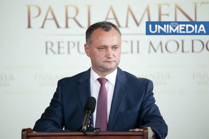 """(video) Dodon nu va acorda vot de încredere Guvernului Leancă: """"Nicio șansă!"""""""