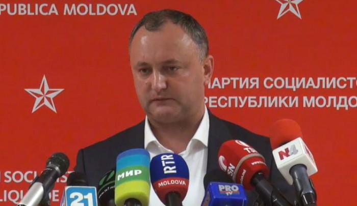 Dodon: Rusia va anula embargoul după ce va fi denunțat Acordul de Asociere