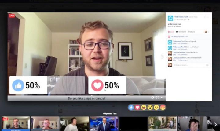 (video) Facebook ar putea include mai multe funcţii interactive în transmisiunile Live