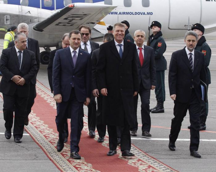 (video) Iohannis la întâlnirea cu Filat: Păstrați vectorul european!