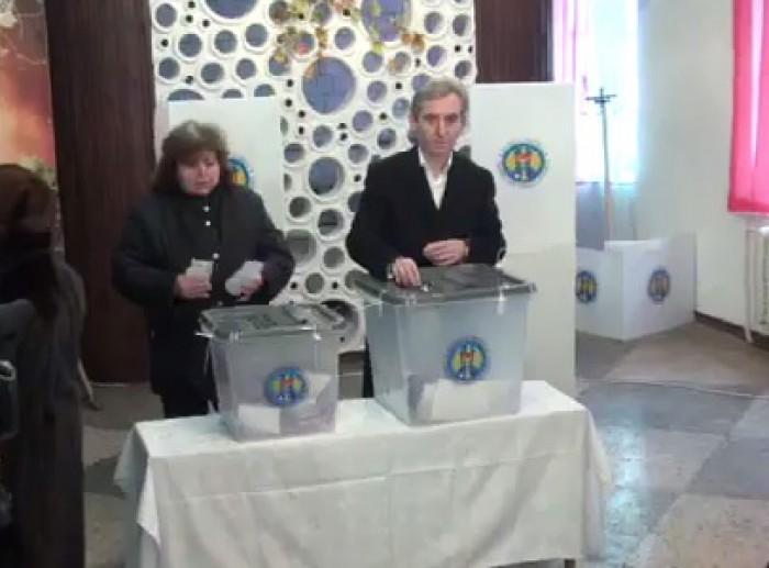 (video) Iurie Leancă: Pentru prima dată am votat cu toată familia