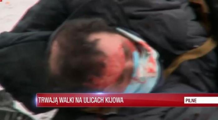 (video) Jurnalism în situații de conflict: Munca unui reporter polonez în mijlocul protestelor de la Kiev