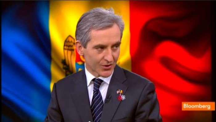 (video) Leancă pentru Bloomberg: Intervenția trupelor militare în Crimeea poate fi replicată în alte țări est-europene
