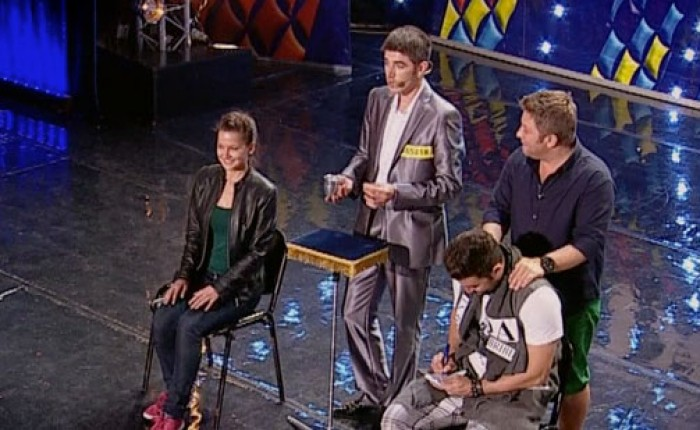"(video) Moldoveanul Andrei Andronache a făcut spectacol la ""Românii au Talent"""