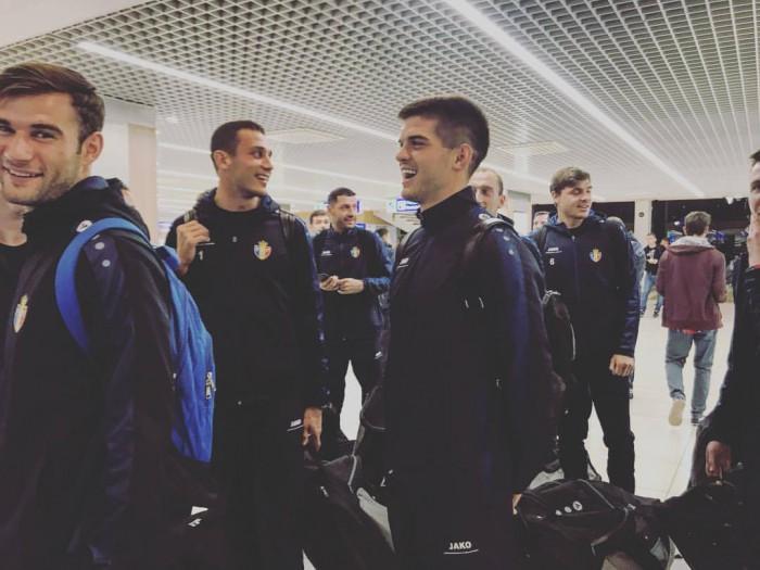 (video) Naționala Moldovei a ajuns în Dublin! Echipa noastră se va duela mâine cu Irlanda