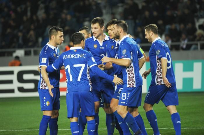 (video) Naționala Moldovei a obținut primul punct în preliminariile pentru Campionatul Mondial! Tricolorii au remizat la Tbilisi cu Georgia
