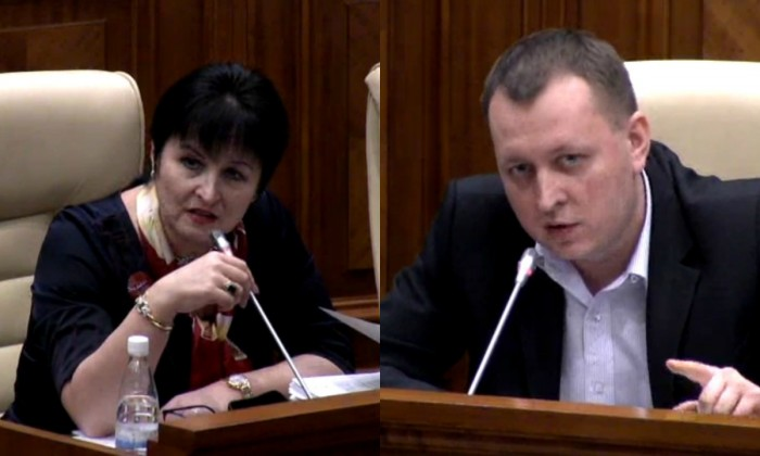 (video) Guțu și Petrenco, la cuțite