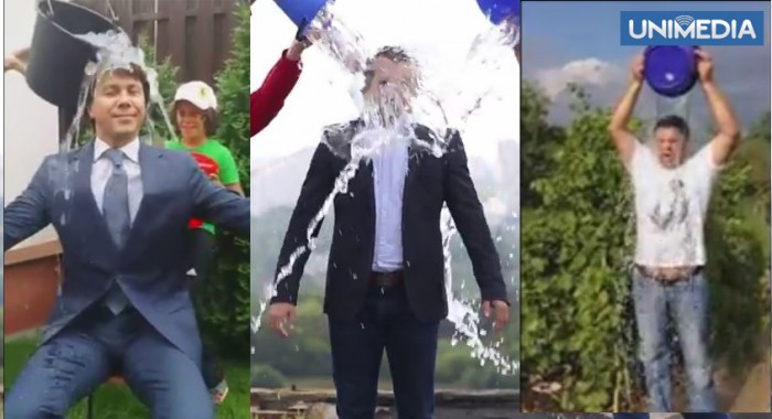 (video) Politicienii moldoveni acceptă Ice Bucket Challenge