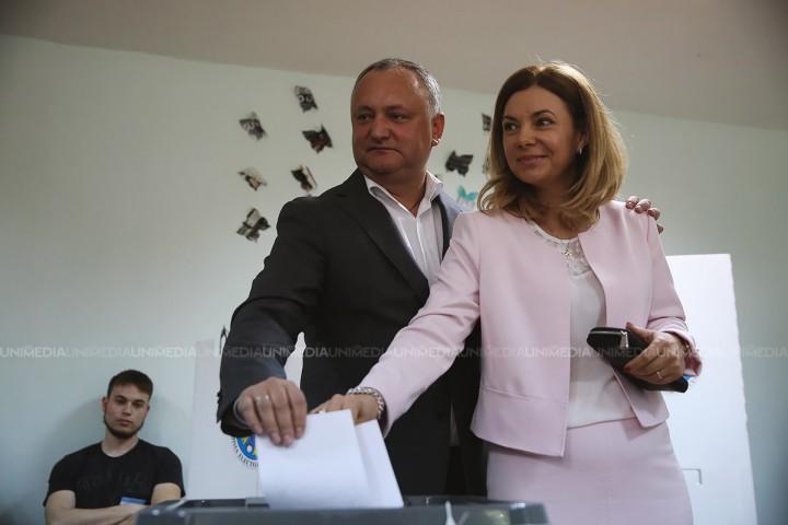 """(video) Președintele Republicii Moldova, Igor Dodon: """"Am votat pentru un candidat bun"""""""