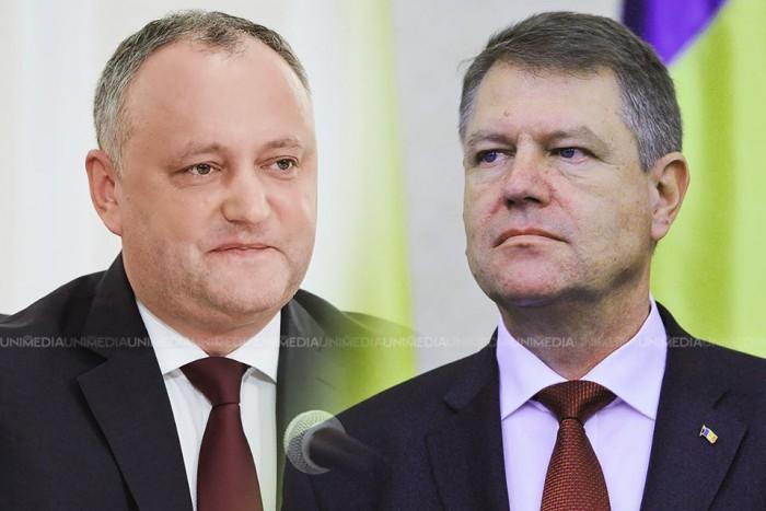 """(video) Răspunsul lui Iohannis la invitația lui Dodon de a vizita Moldova: """"In due time"""""""