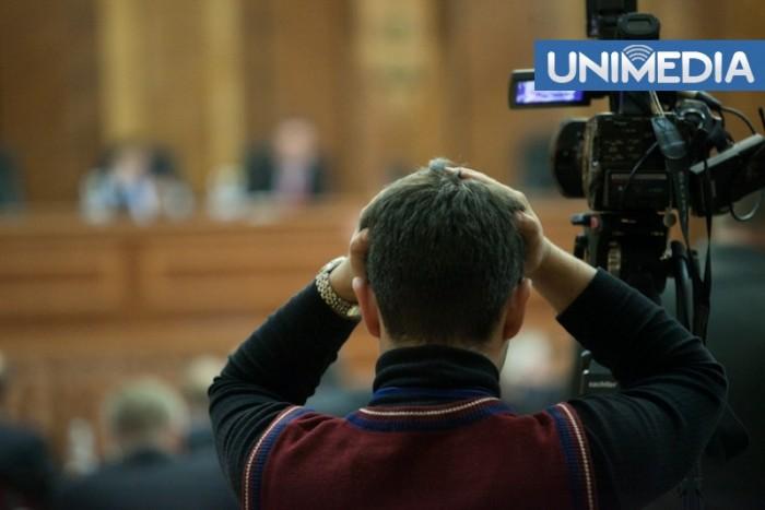 (video) Stop Cadru: Voronin, huiduit în Parlament