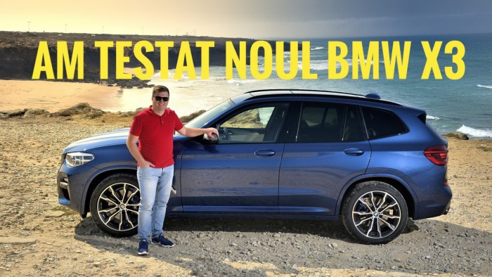 (video) Test Drive: Am testat noua generație BMW X3 – Premieră