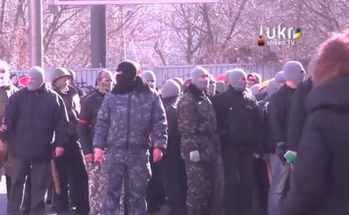 (video) YouTube: Grup de provocatori de la Harkov, trimiși pe Maidan