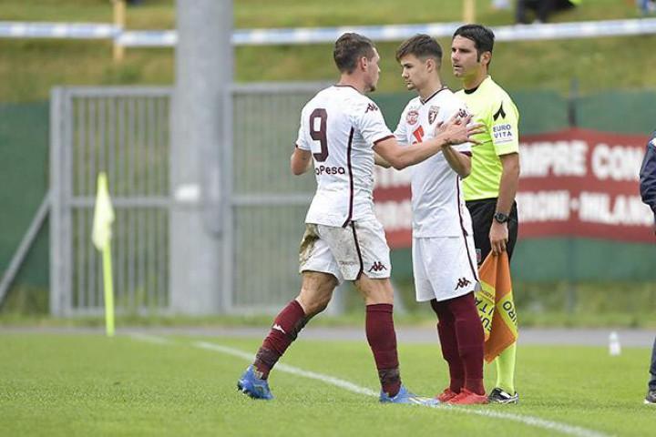 (video) Vitalie Damașcan a înscris primul gol pentru FC Torino. Atacantul moldovean a marcat în amicalul cu Renate