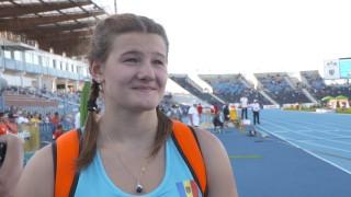Alexandra Emilianov - campioană mondială! Moldoveanca a triumfat la proba de aruncare a discului