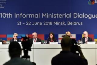 Comisarii Johannes Hahn și Mariya Gabriel din Belarus vor participa la Dialogul Informal al Parteneriatului Estic