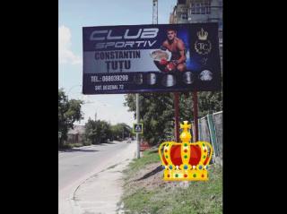 """(imaginea zilei) Modestie de """"rege"""". Cum își promovează Constantin Țuțu clubul său sportiv pe rețelele de socializare"""