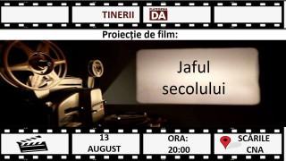 """""""Jaful secolului"""", proiecție de film creată de tinerii Platformei DA. Cine se face vinovat de furtul miliardului"""