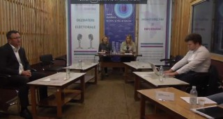 (video) Dezbateri electorale la Bălți: Doi candidații din patru invitați au fost prezenți
