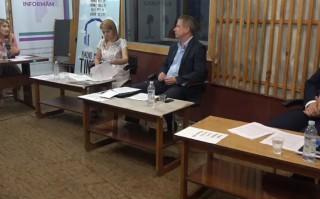 (video) Dezbateri la Bălți: Doi candidați pentru șefia municipiului Bălți și-au prezentat planul electoral și au răspuns la întrebări