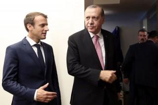 Macron şi Recep Erdogan au convenit asupra intensificării relaţiilor economice bilaterale