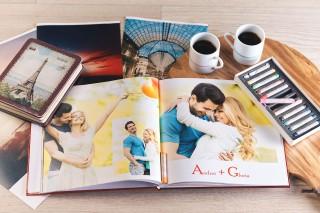 (foto) Mai este puţin şi împliniţi un an de la ziua căsătoriei? Fotocartea - cadoul ideal pentru Nunta de Hârtie
