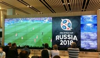 Meciurile Campionatului Mondial de Fotbal le puteţi urmări la Aeroportul Chişinău!