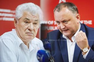 """(stop cadru) Voronin: A terminat cu """"clubnica"""" și a șterpelit-o la Moscova, că Putin nu poate deschide Campionatul Mondial la Fotbal fără Dodon"""