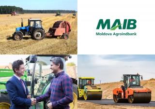 Tehnica agricolă şi industrială devine mai accesibilă datorită ofertei MAIB